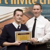 Chief SuperIntendant Gerry Donnellan with Award Winner